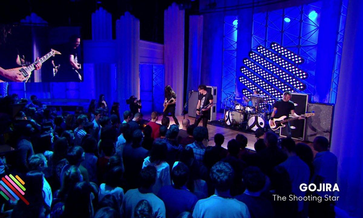 "Gojira - ""The Shooting Star"" en live sur Quotidien (exclu live)"