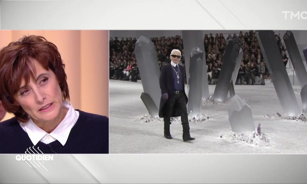 """Inès de la Fressange se souvient de Karl Lagerfeld : """"Il était terriblement seul, et terriblement fragile"""""""