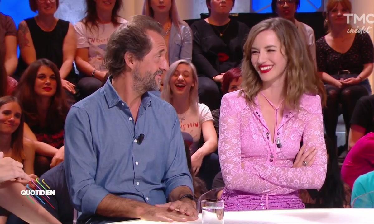 Louise Bourgoin et Stéphane de Groodt, l'un dans l'autre