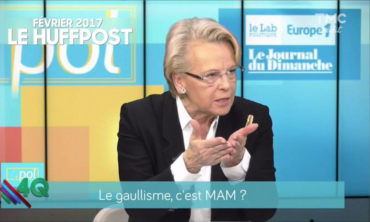 """Les 4Q - Michèle Alliot Marie """"Ah mais elle faisait campagne ?"""""""