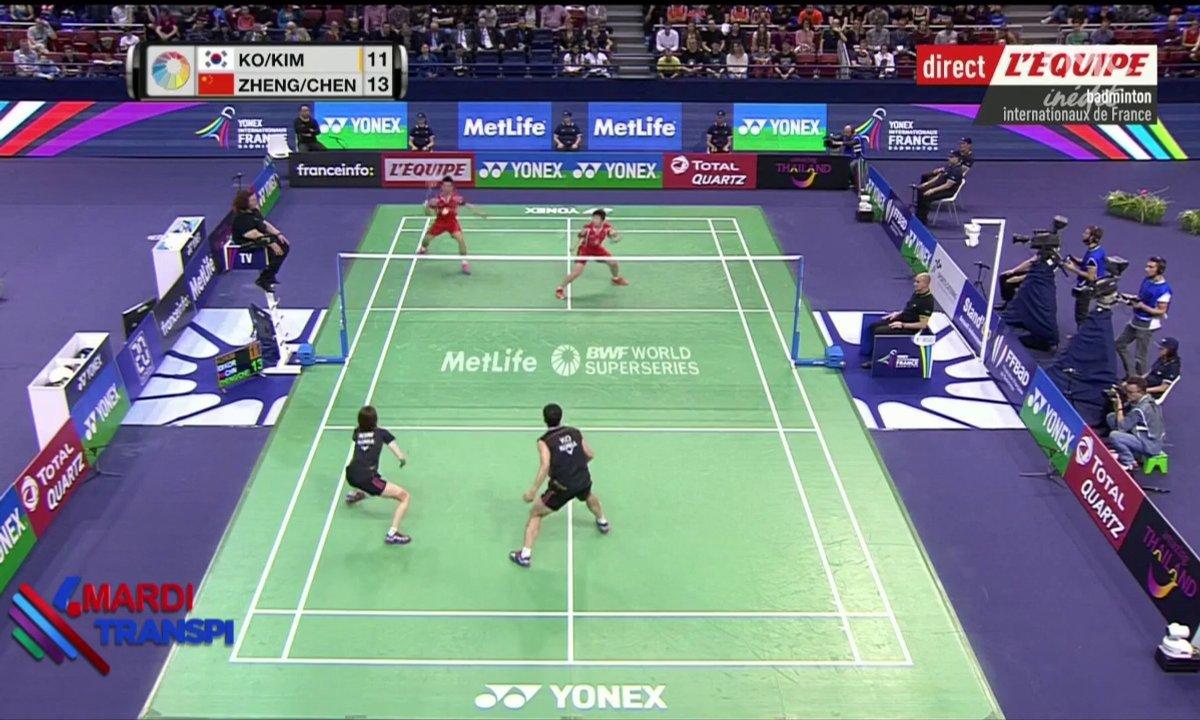 Mardi Transpi - dans l'enfer du badminton
