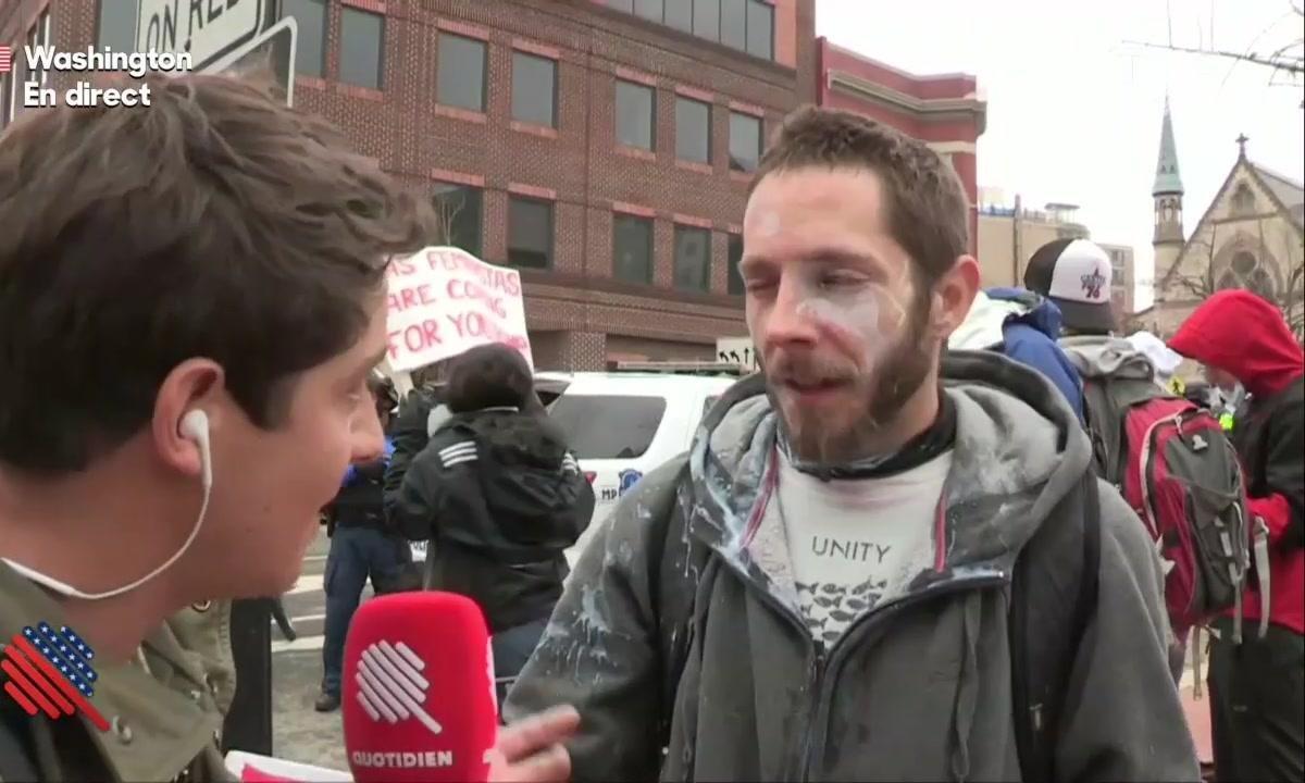 """Martin Weill : J'ai pris du gaz lacrimo dans la figure"""""""