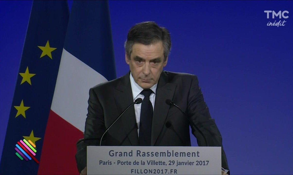 Meeting de François Fillon - Sortez les mouchoirs