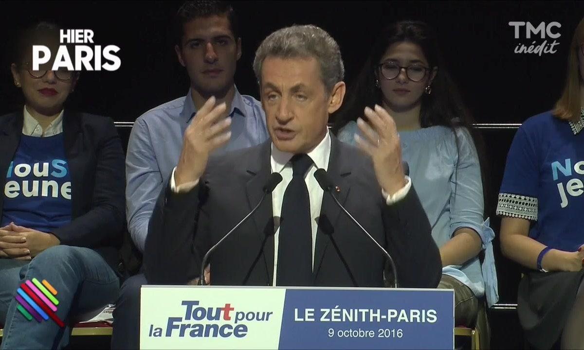 Le meeting low-cost de Nicolas Sarkozy