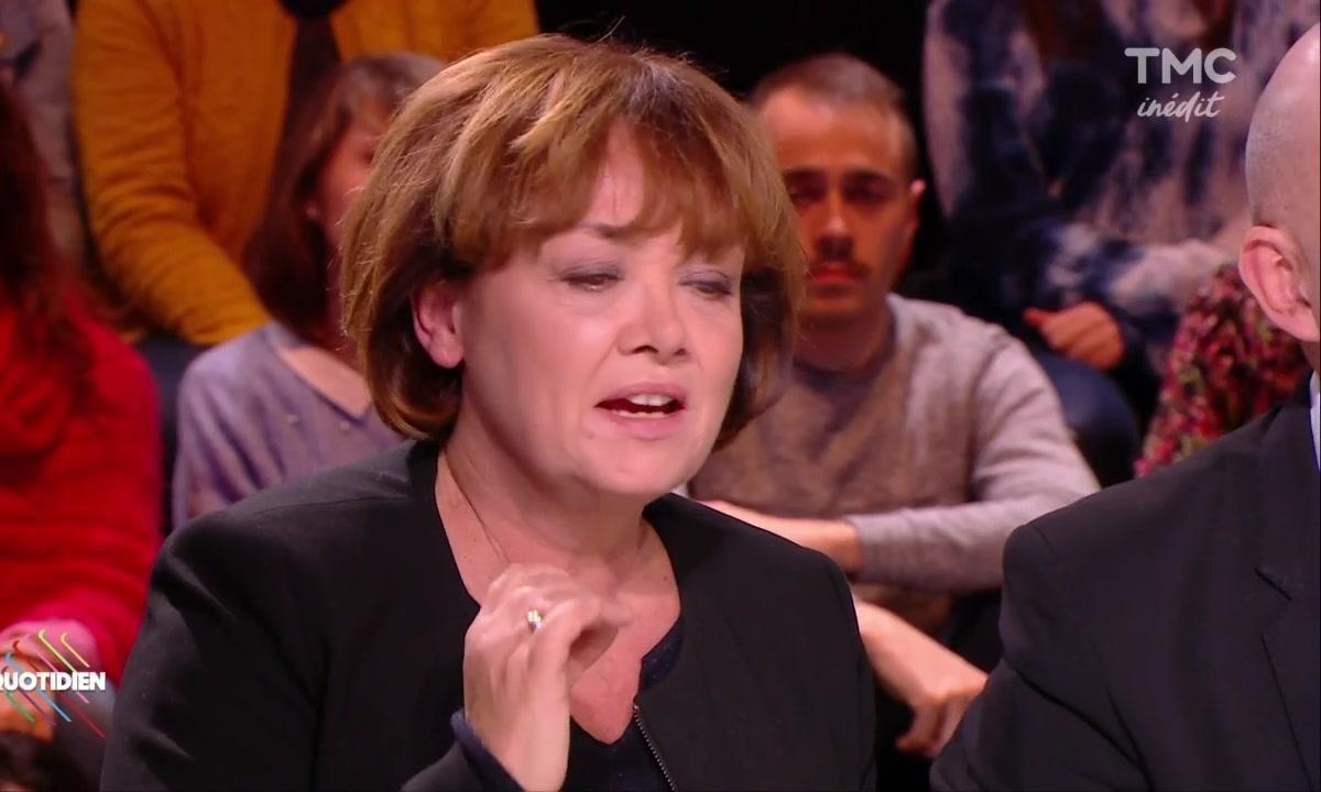 """Mélenchon insulte Nathalie Saint-Cricq : """"Va te faire foutre"""""""