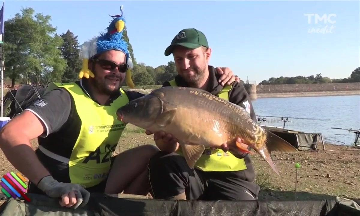 Mercredi Transpi : les Bleus Champions du Monde... de pêche à la carpe !