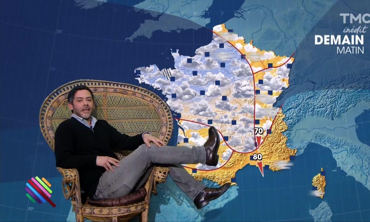 La météo du 09 mars par Manu Payet
