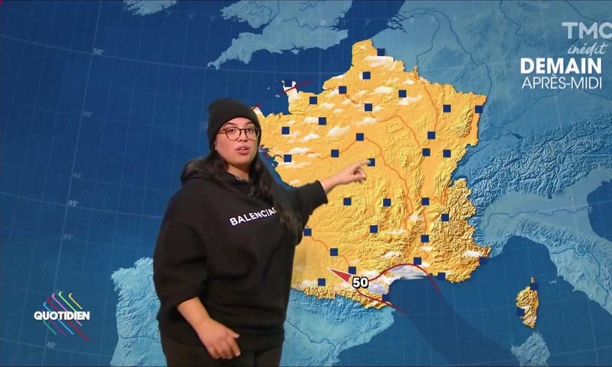 La météo du 13 octobre avec Melha Bedia