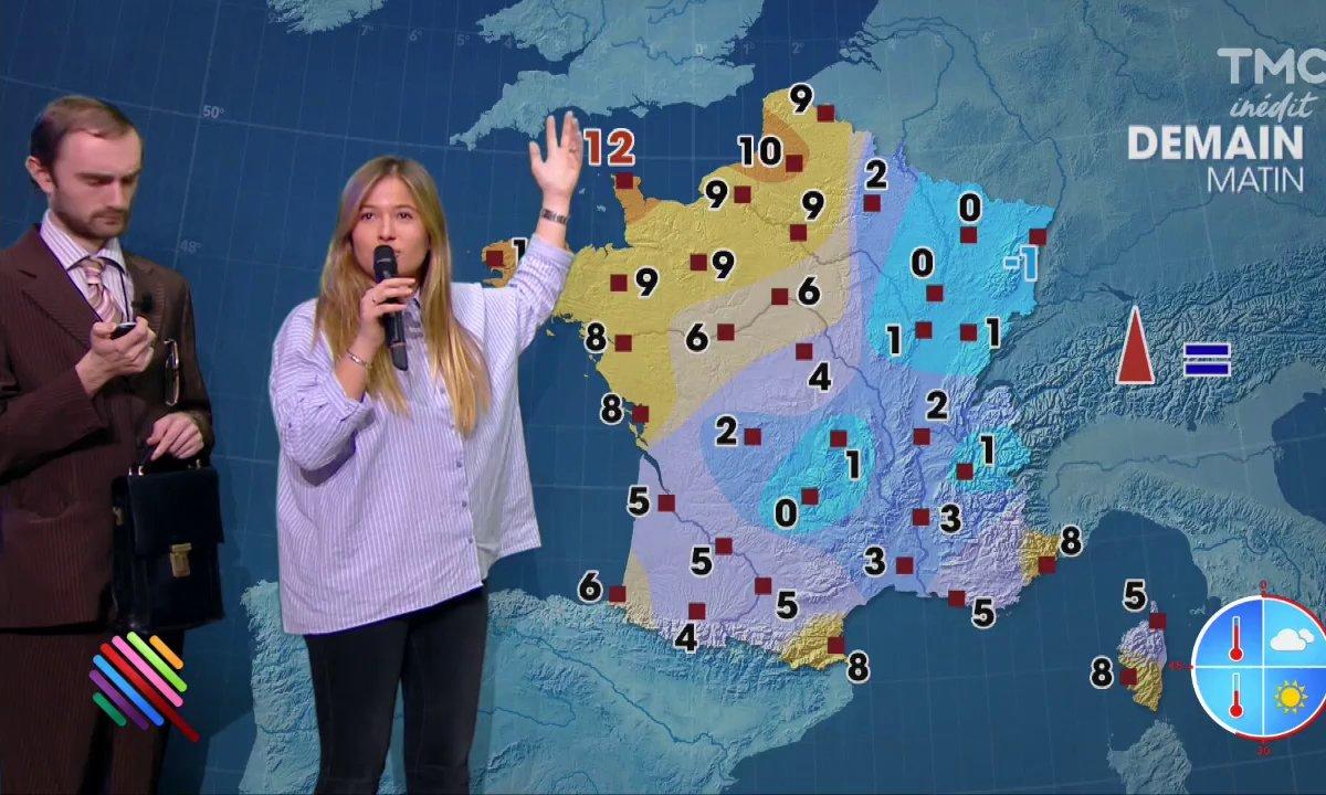 La météo du 14 novembre