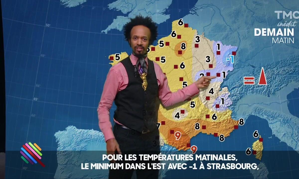La météo du 15 février par Fantastico Negrito