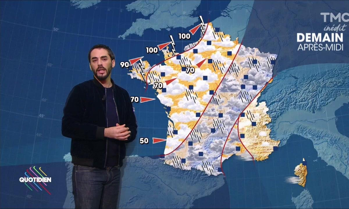 La météo du 20 octobre par Gringe