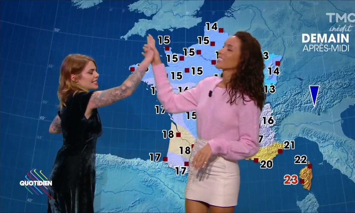 La météo du 27 octobre avec Inès Rau et Coeur de Pirate