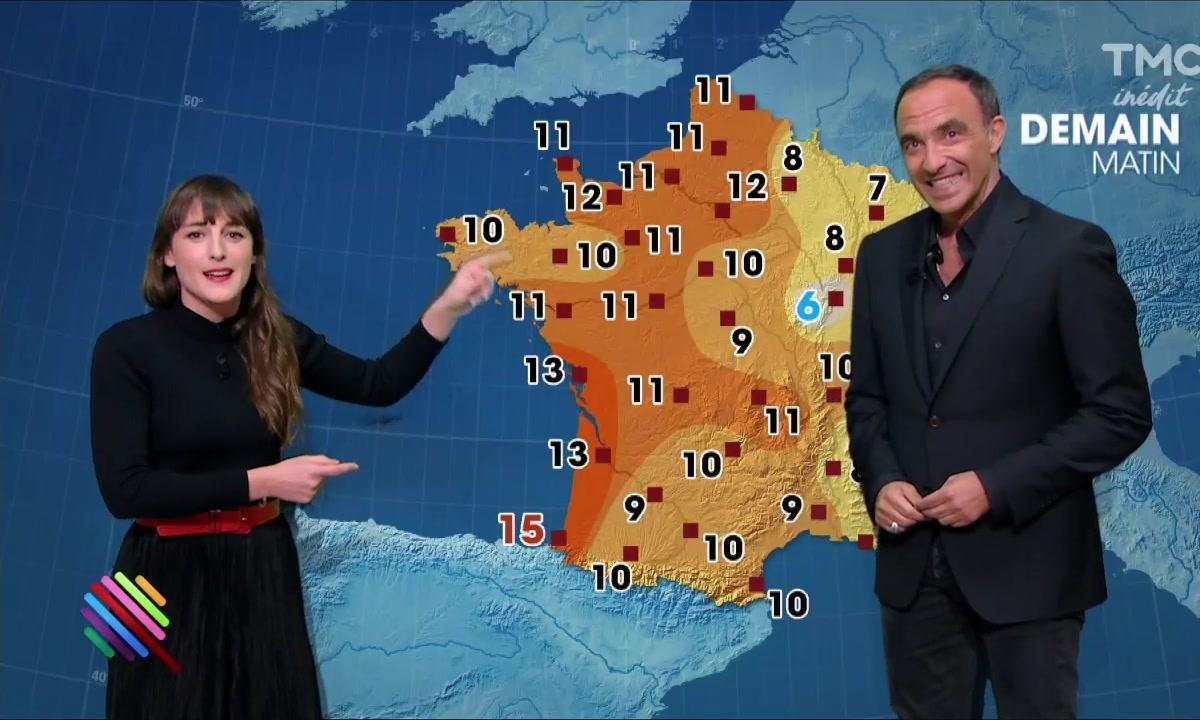 La météo du 30 mars by Juliette Armanet et Nikos Aliagas