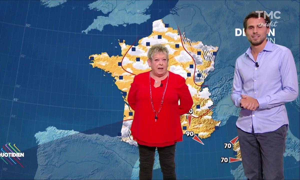 La météo du 6 octobre par Danielle