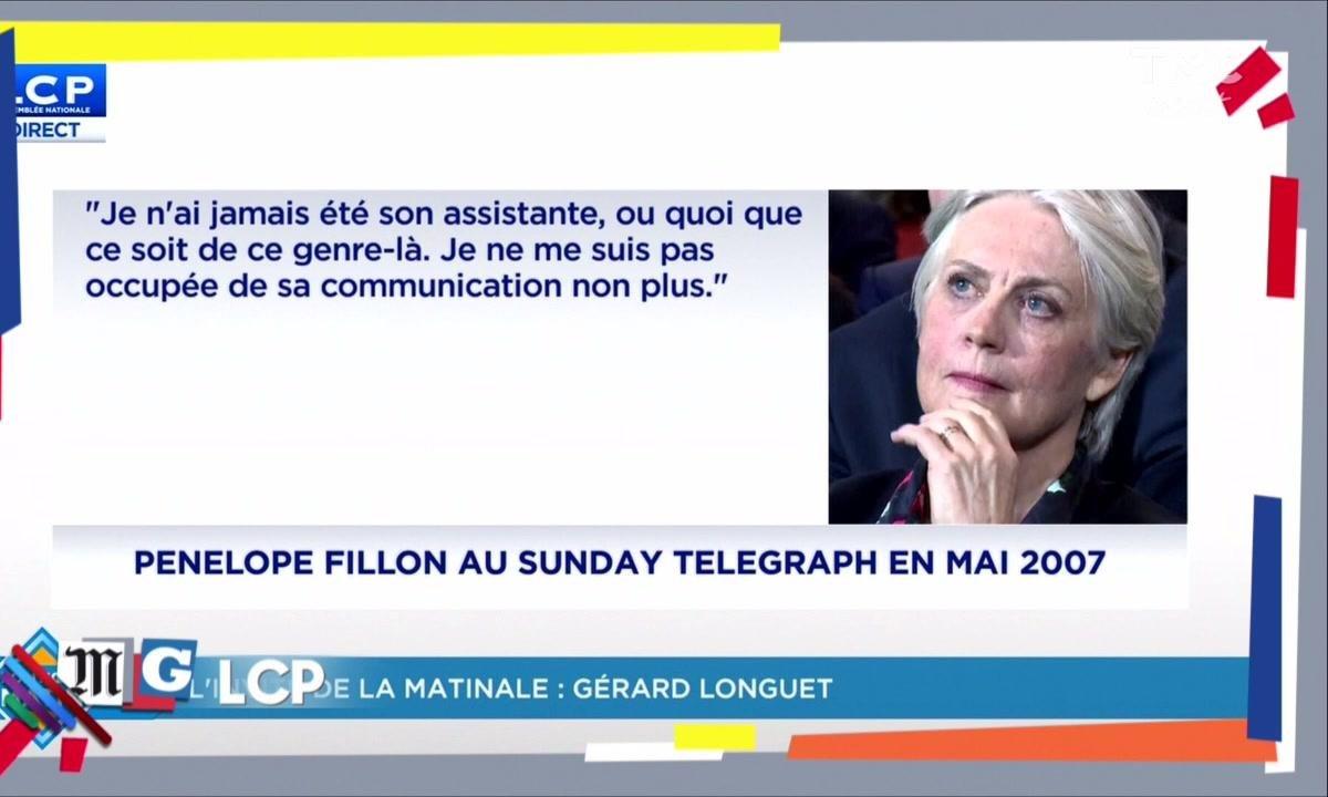 """Morning Glory - 2007, Pénélope Fillon : """"je n'ai jamais été son assistante"""""""