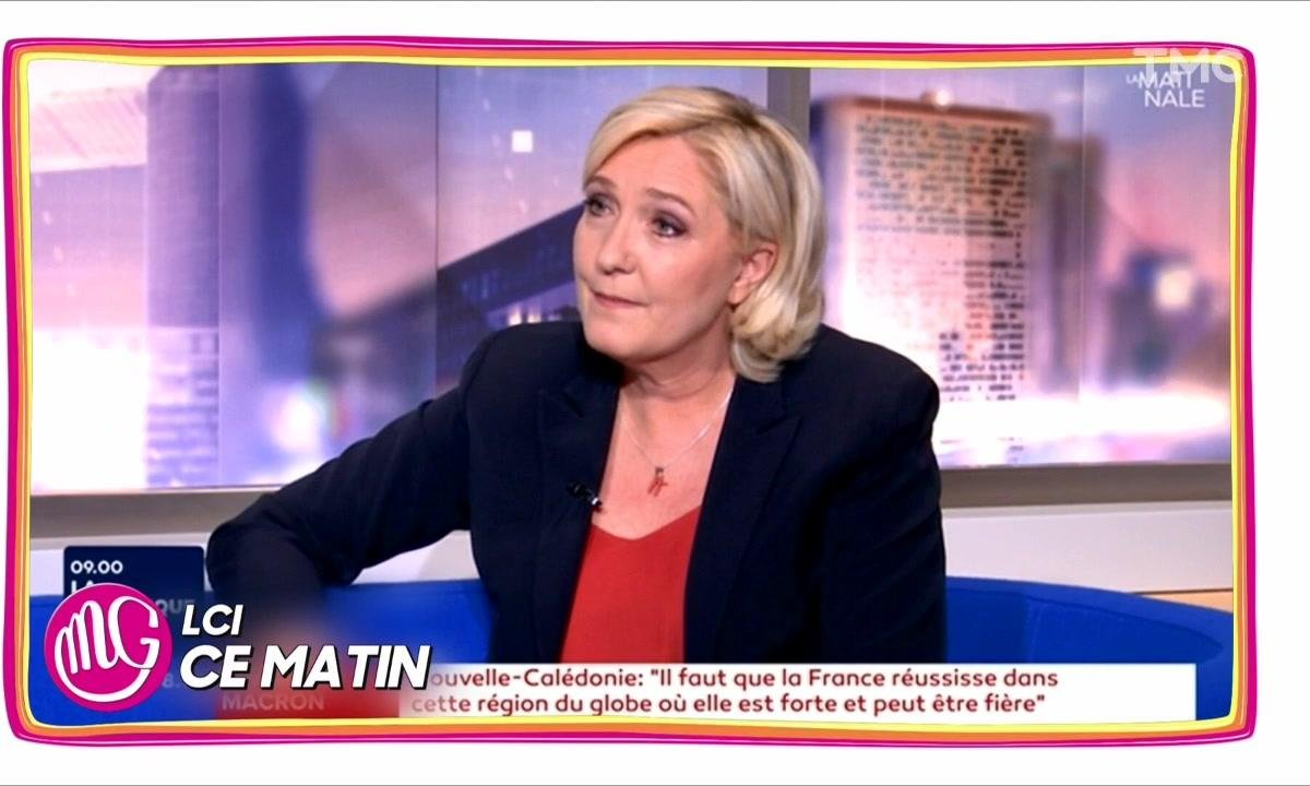 Morning Glory : grosse gêne pour Marine Le Pen interrogée sur son père