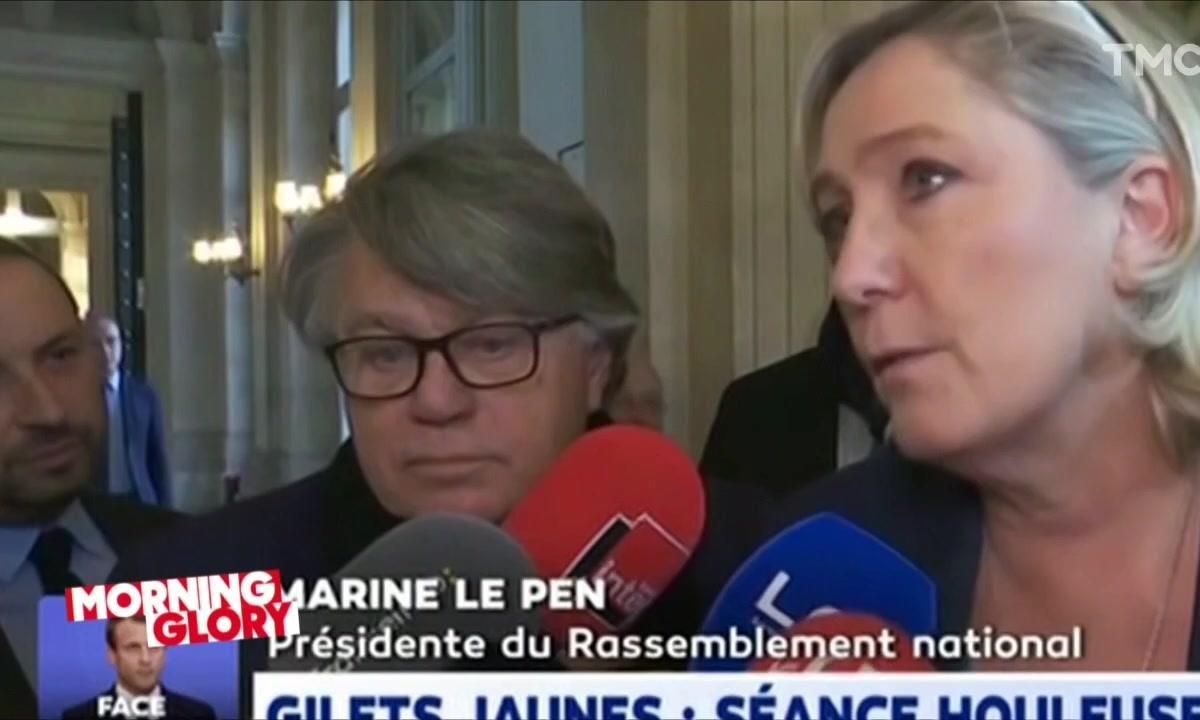 Morning Glory : le malaise du jour vous est présenté par Gilbert Collard et Marine Le Pen