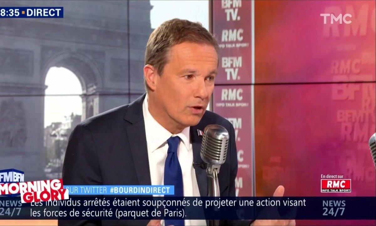 Morning Glory : Nicolas Dupont-Aignan ou la technique du Chat potté