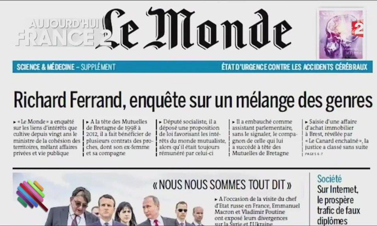 Morning Glory - Les Républicains dans le déni face aux affaires Fillon et Ferrand