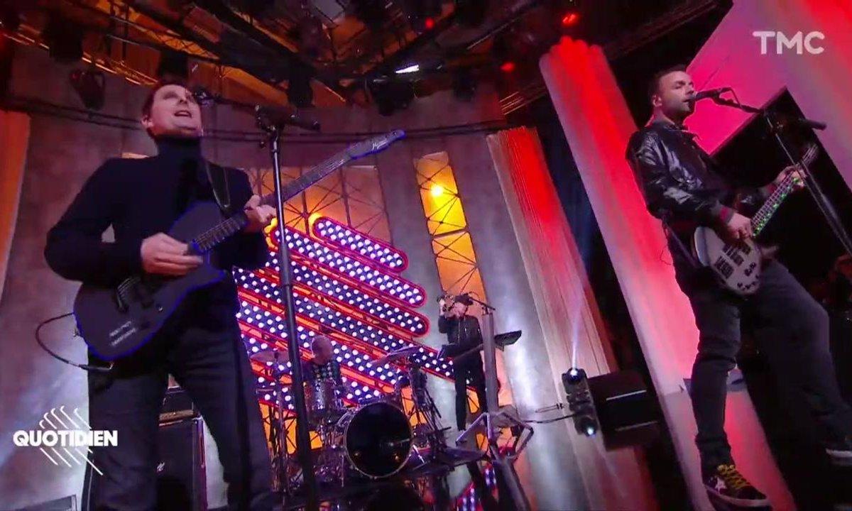 """Muse : """"Pressure"""" en live pour Quotidien"""