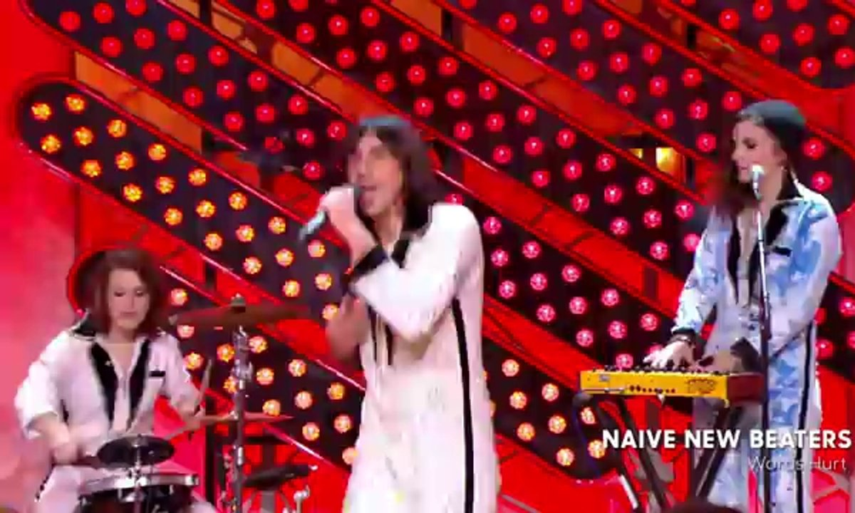 "Les Naive New Beaters - ""Words Hurt"" en live dans Quotidien (exclu web)"