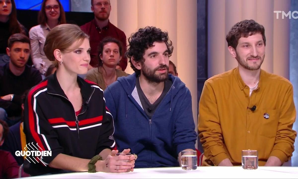 """Invités : Noémie Schmidt, Laurent Rochette et Paul Saïsset pour """"Paris est à nous"""""""