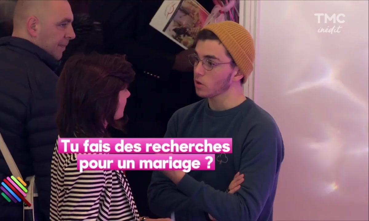 Panayotis Pascot continue de chercher l'amour au salon du Mariage