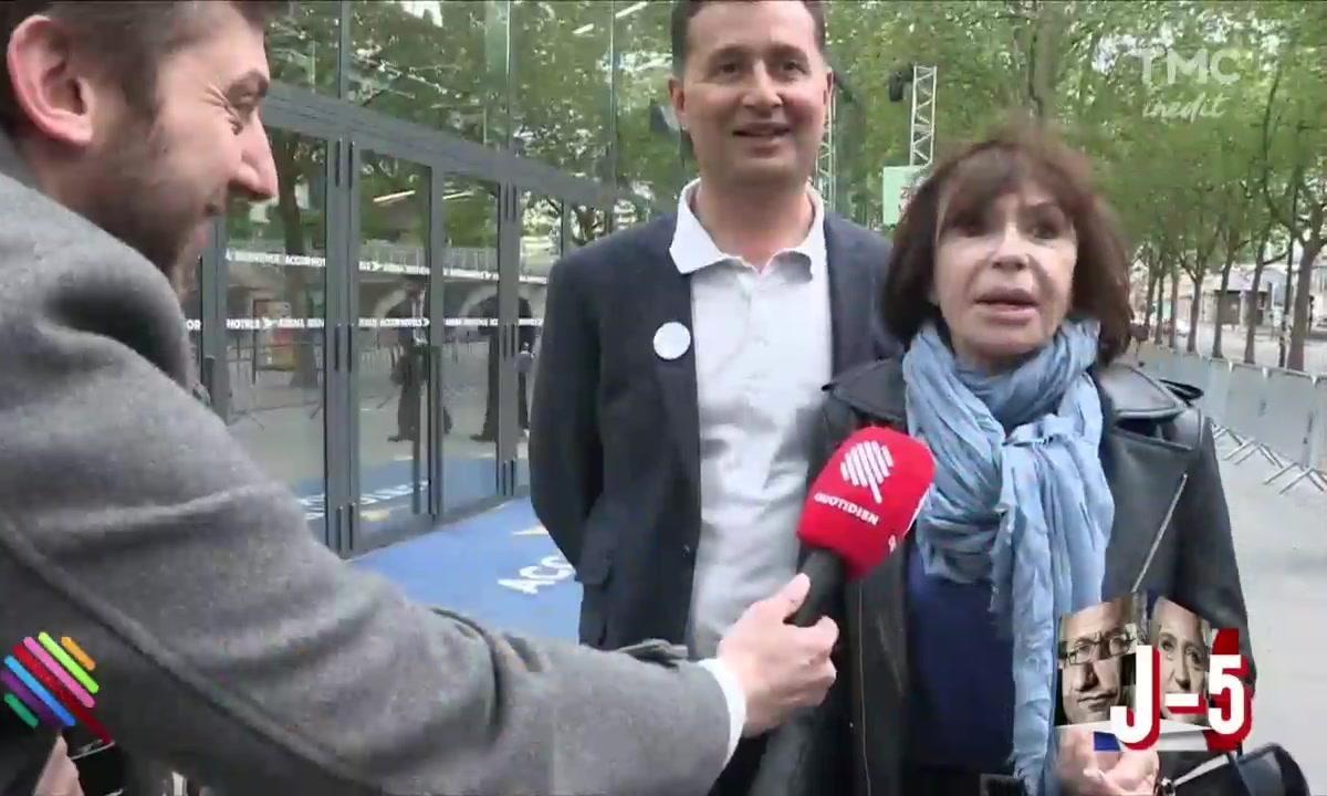 Parterre de VIPs pour Macron à Bercy