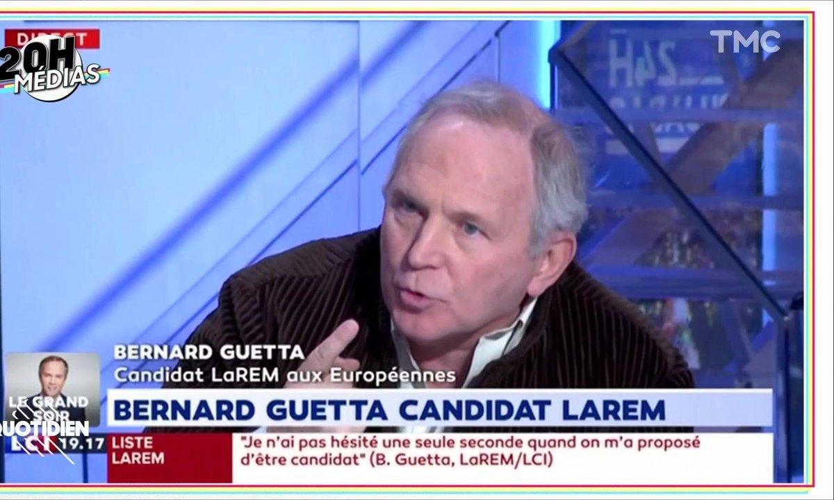 20h Médias : Bernard Guetta peut-il être journaliste et candidat aux européennes ?