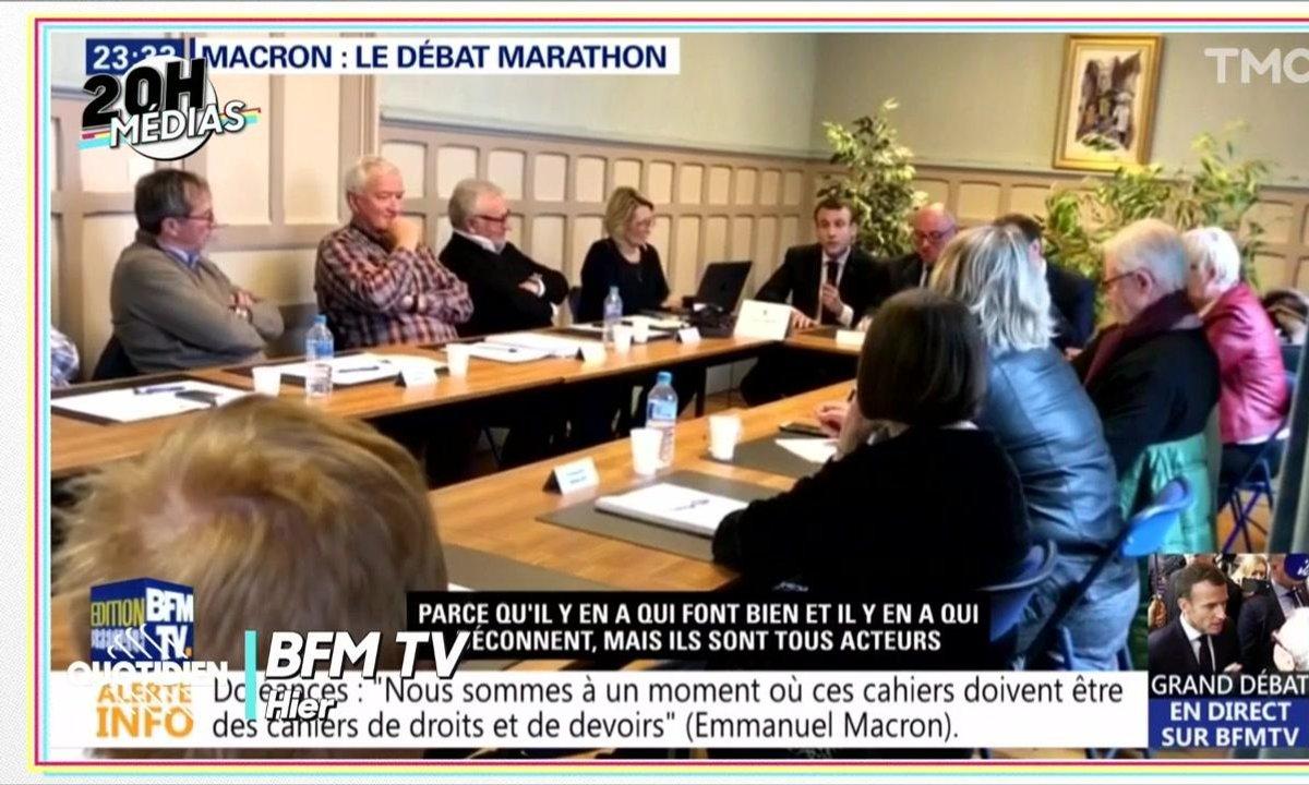 20h Médias : d'où viennent les images d'Emmanuel Macron parlant de ceux « qui déconnent » ?