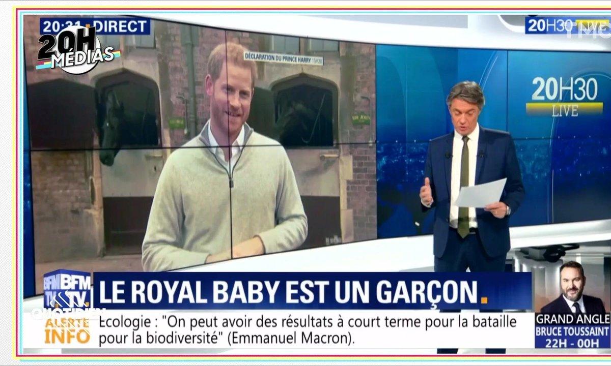 20h Médias : la folie Royal Baby hystérise la presse