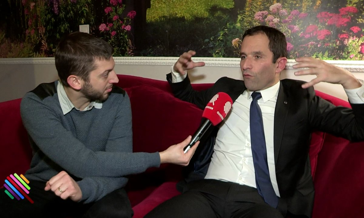 """Benoit Hamon """"Le PS s'est mis lui-même en morceaux"""""""
