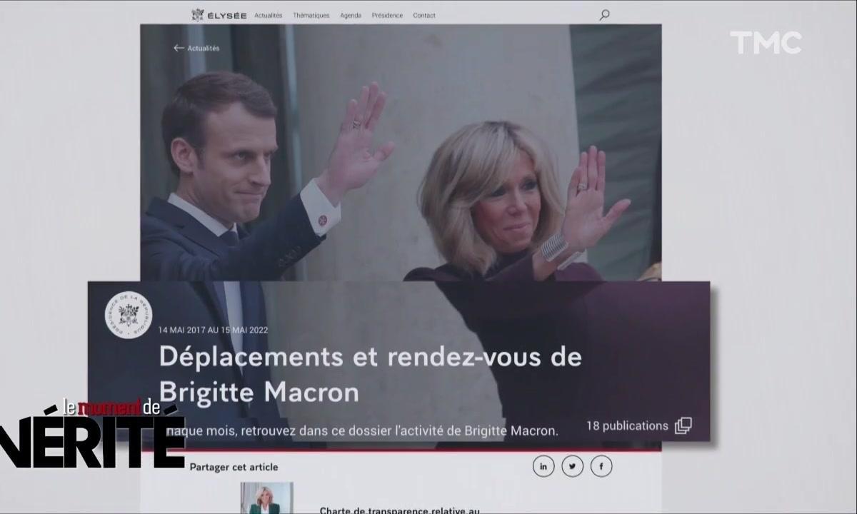 Le Moment de vérité : mais que fait Brigitte Macron de ses journées ?