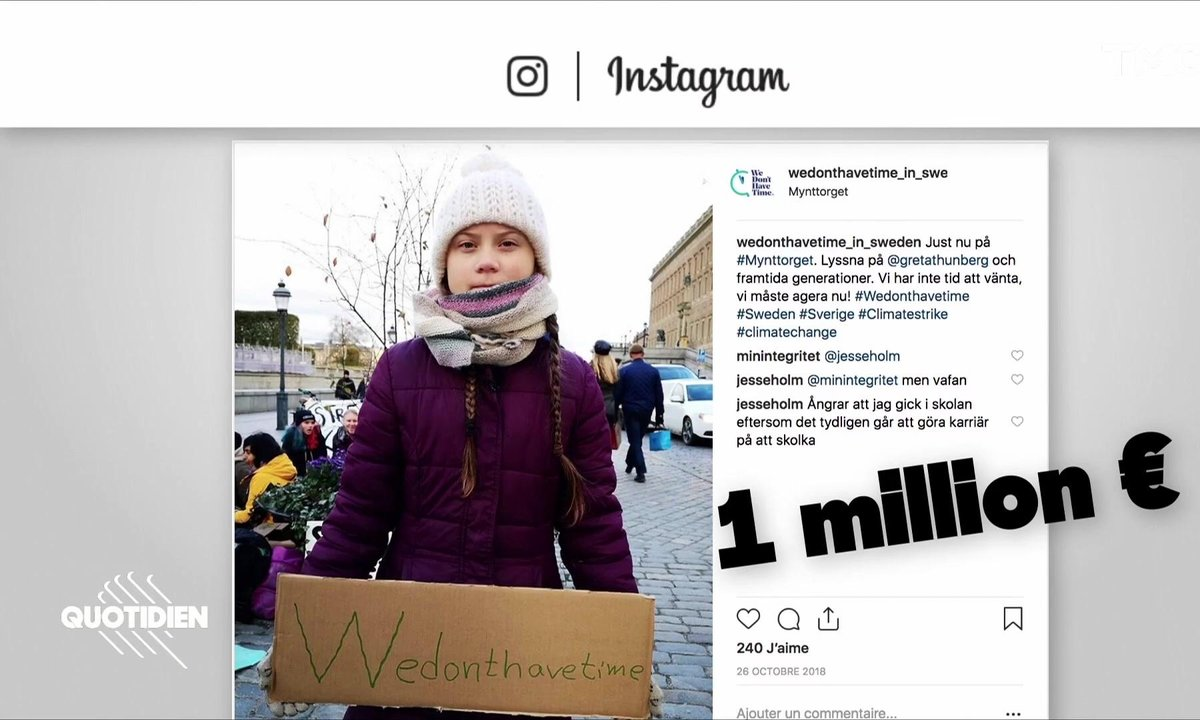 Zoom : la militante écologiste Greta Thunberg est-elle manipulée par ses proches ?