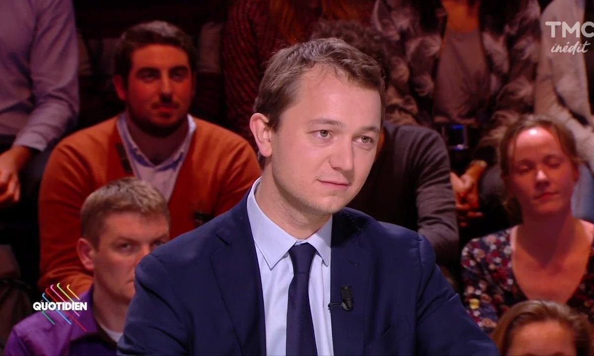 Invité : Maël de Calan, l'adversaire de Laurent Wauquiez