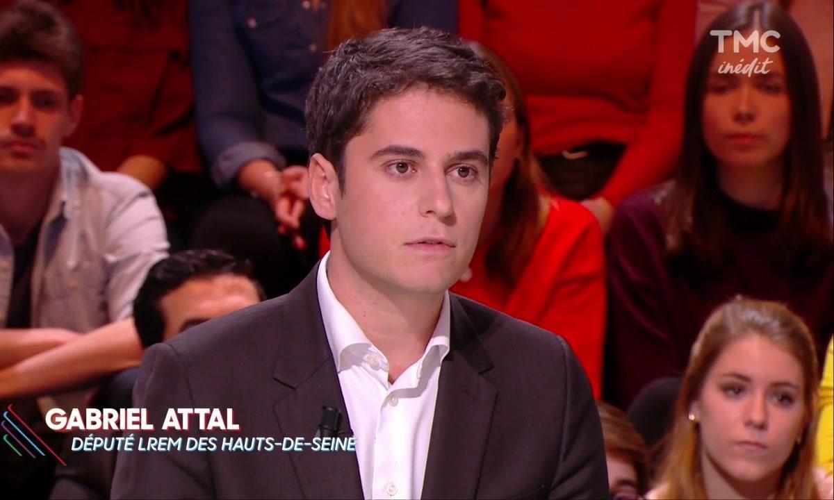 Invité : Gabriel Attal, 28 ans, et nouveau porte-parole d'En Marche