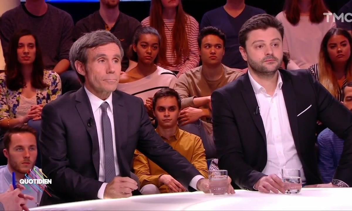 """Invités : David Doukhan et David Pujadas pour """"Le dynamiteur"""", documentaire consacré à Emmanuel Macron (Partie 1)"""