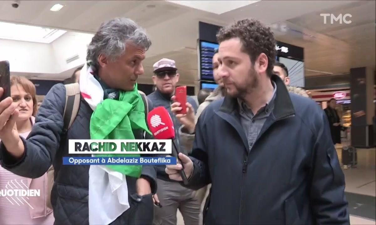 Chaouch Express : l'astuce insolite de Rachid Nekkaz, candidat interdit à la succession d'Abdelaziz Bouteflika