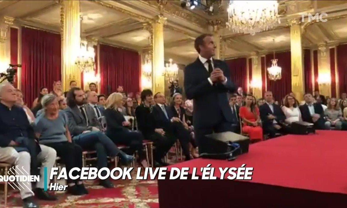 La soirée privée des GAFA's à l'Élysée (sans journalistes français)