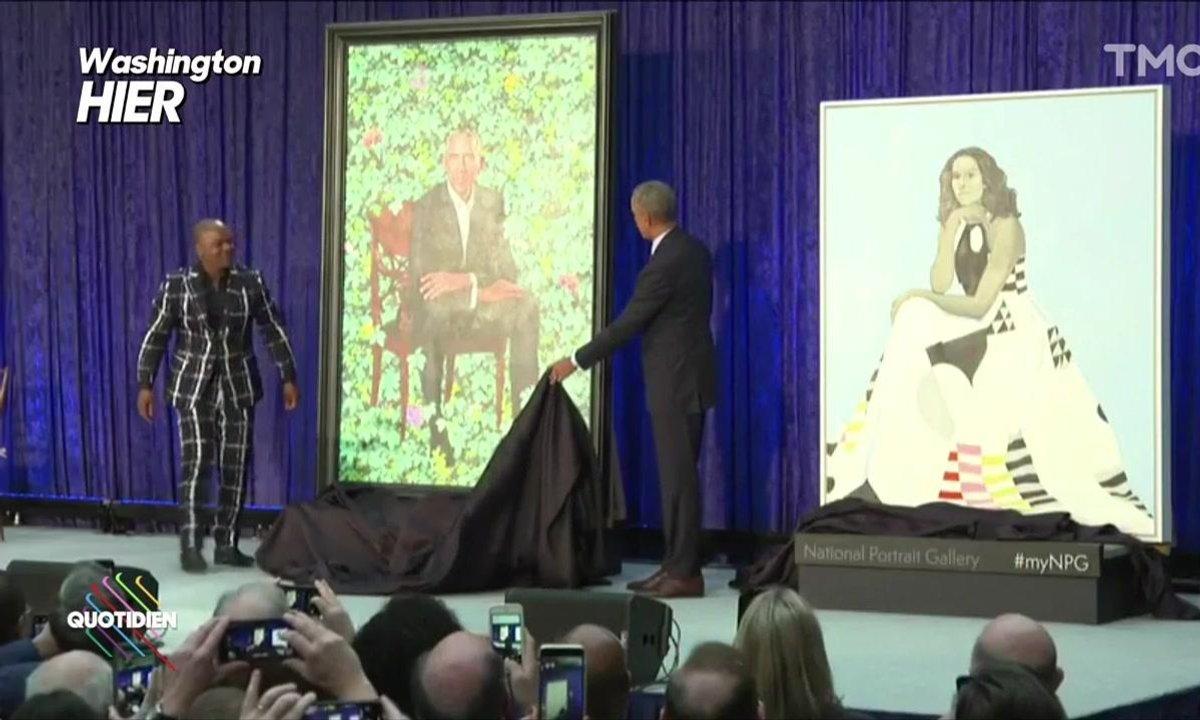 L'image du jour de Lilia Hassaine : Les portraits officiels de Michelle et Barack Obama dévoilés