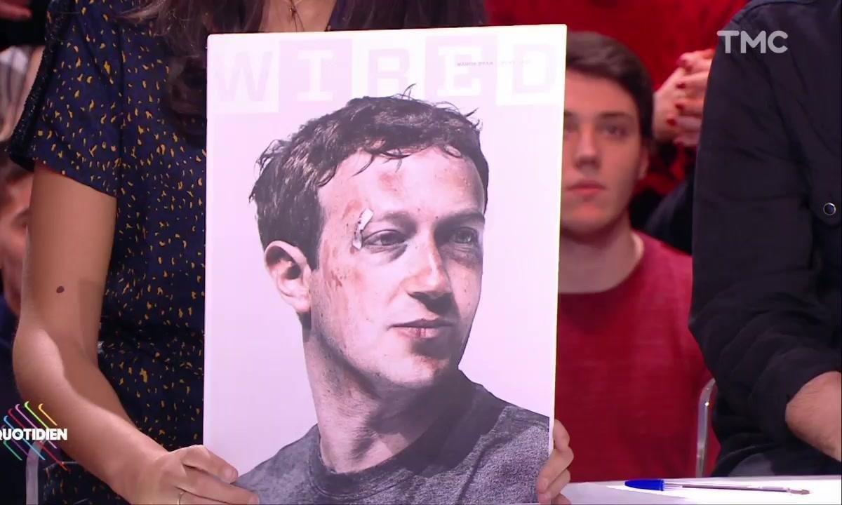 L'image du jour de Lilia Hassaine : Wired amoche Mark Zuckerberg