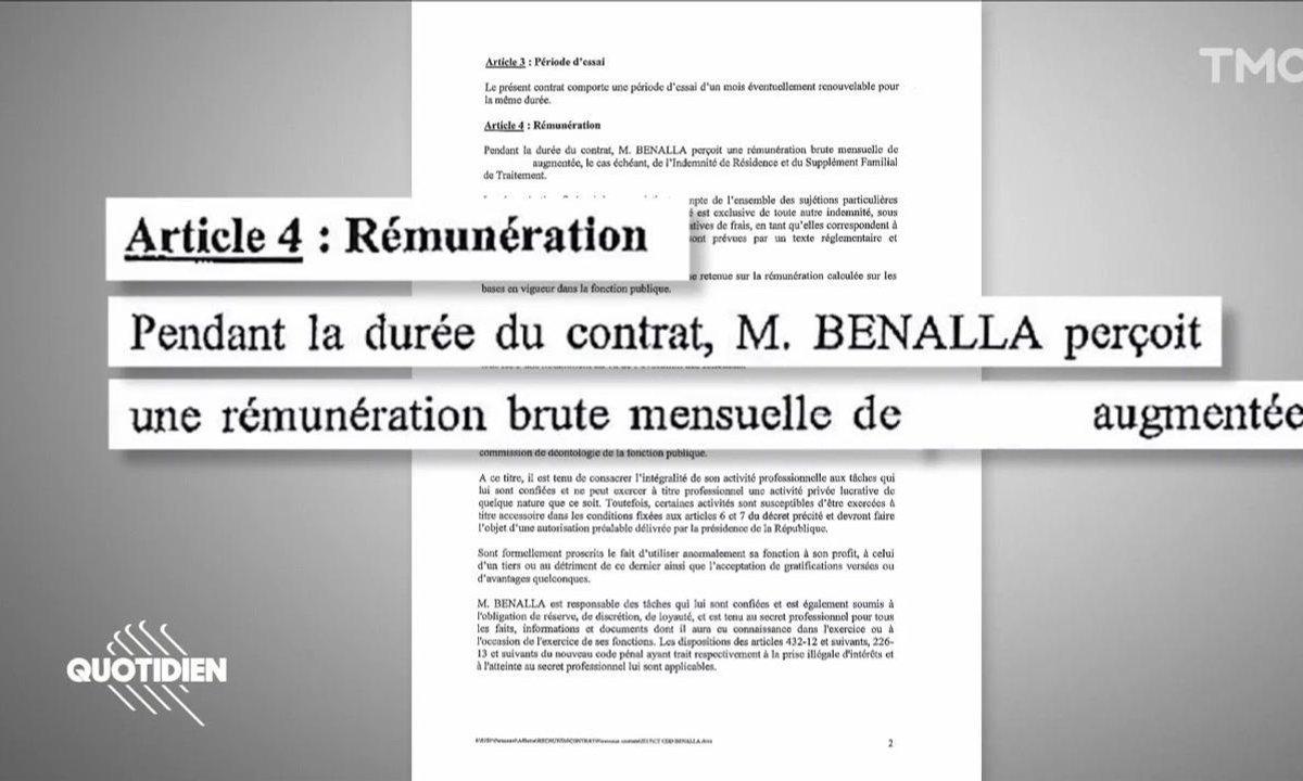 L'impossible recherche du montant du salaire d'Alexandre Benalla