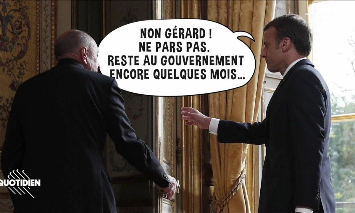 Zoom : Gérard Collomb veut partir, Charles Aznavour à l'honneur dans Libé
