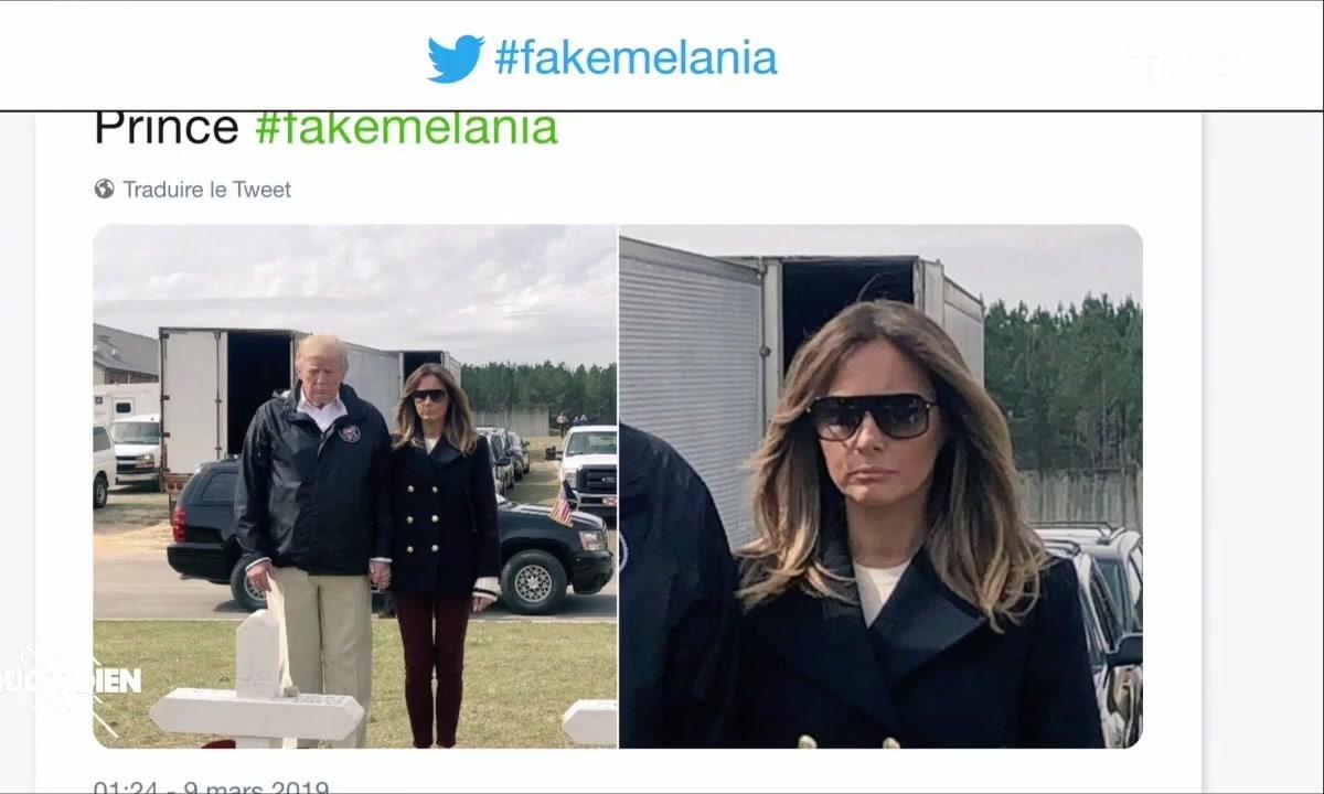 Zoom : Melania Trump a-t-elle embauché un sosie pour la remplacer ?