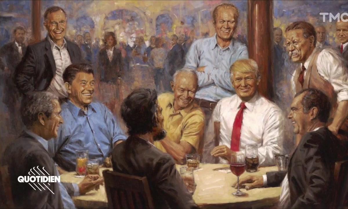 Zoom : le tableau mégalo de Donald Trump