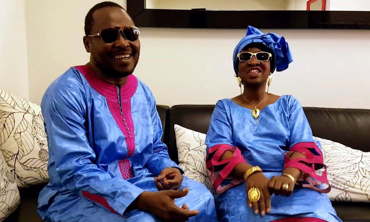Qoulisses avec Amadou et Mariam  (Exclu web)