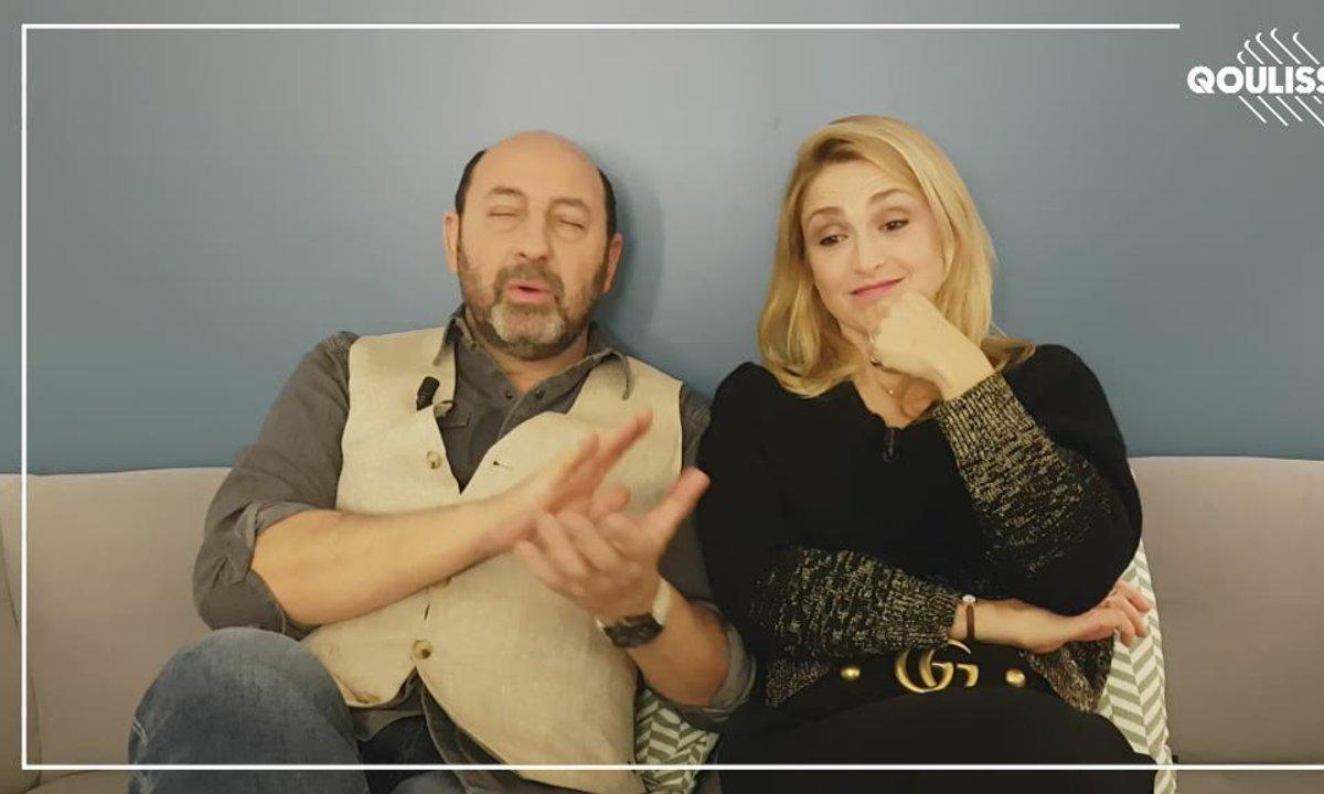 Qoulisses avec Kad Merad et Julie Gayet !