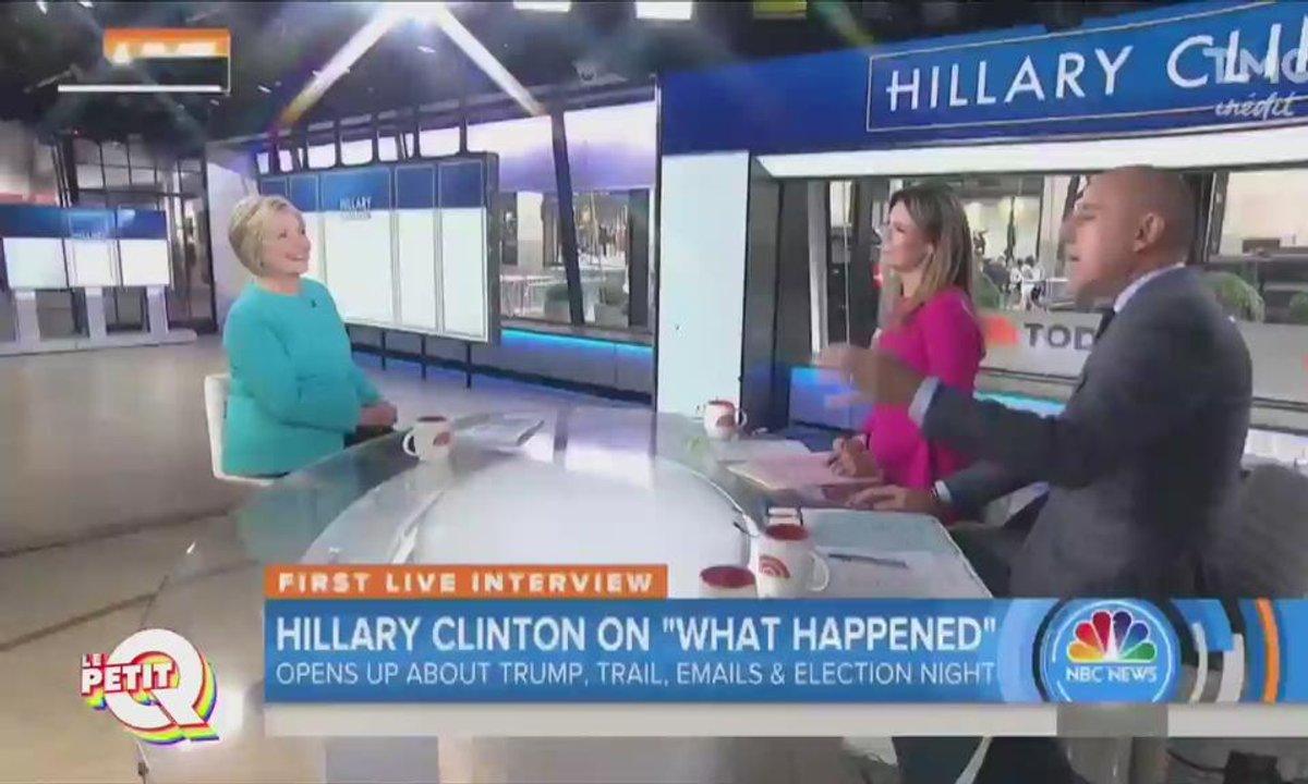 Le petit Q : Hillary Clinton fait son show