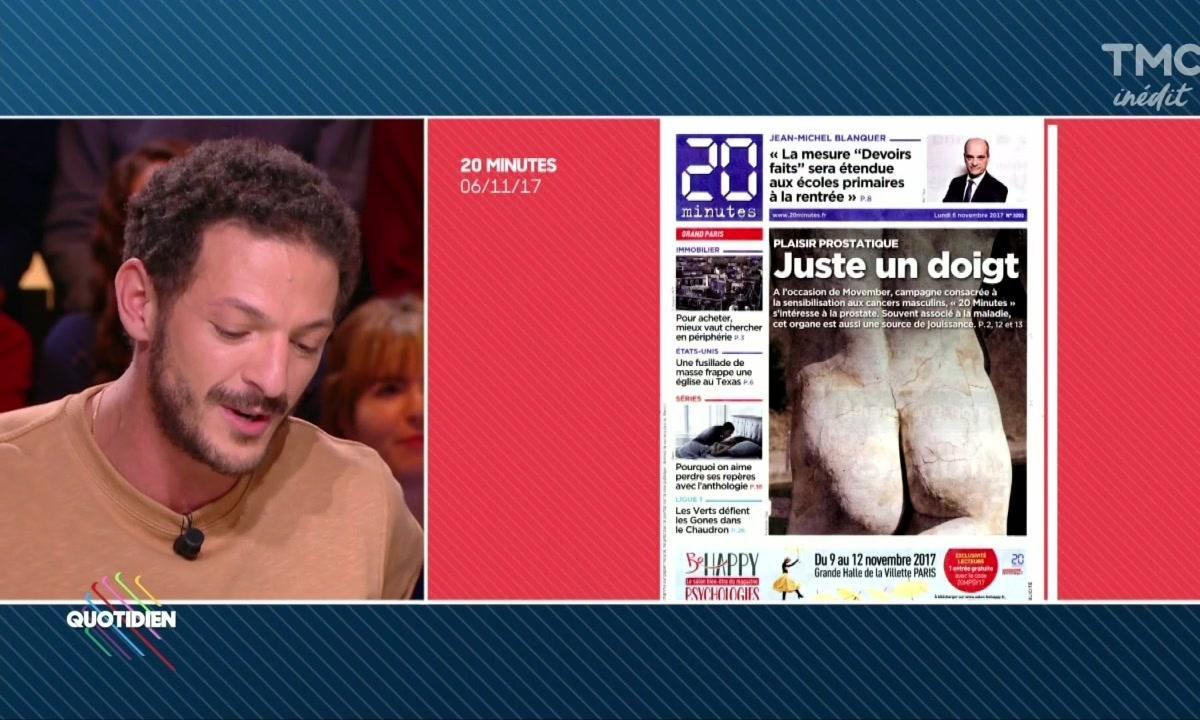 """La revue de presse : """"Juste un doigt"""" de Vincent Dedienne"""