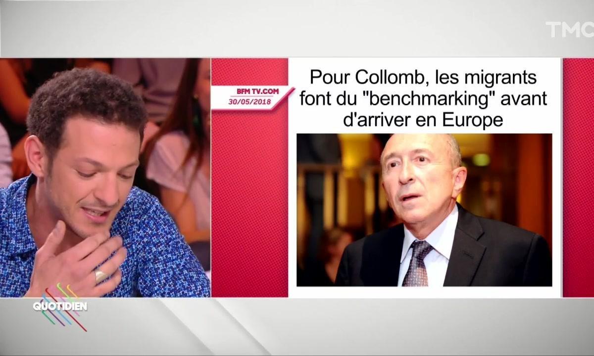 """La revue de presse de Vincent Dedienne : """"Allo l'Europe ? Ils sont comment tes centres de rétentions ?"""""""